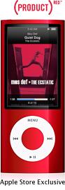 iPod nano punainen
